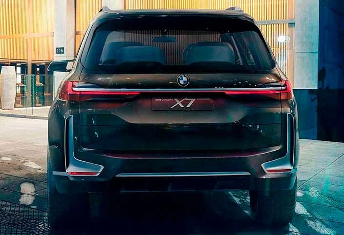 Самый большой кроссовер BMW X7 iPerformance Concept