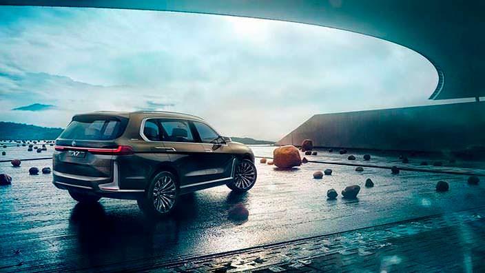 Гигантский внедорожник BMW X7 iPerformance Concept