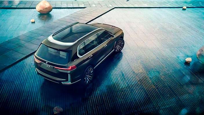 Самый большой внедорожник BMW X7 iPerformance Concept