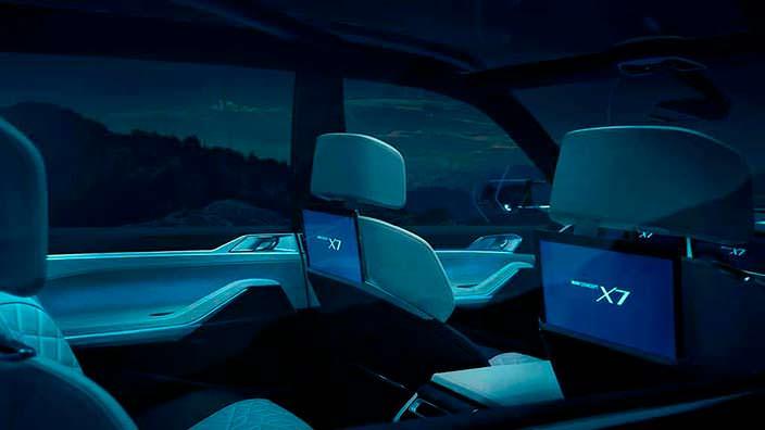 Фото салона BMW X7 iPerformance Concept