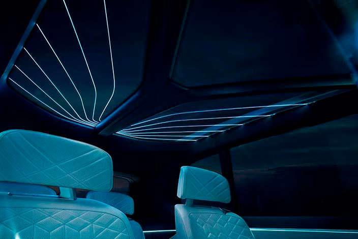 Панорамная крыша BMW X7 iPerformance Concept