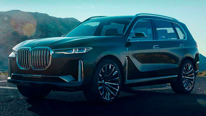 Безвкусный дизайн BMW X7 iPerformance Concept