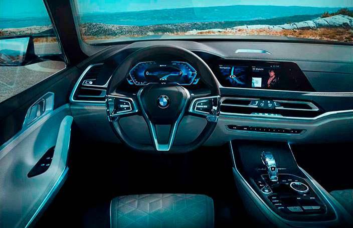 Футуристический салон BMW X7 iPerformance Concept