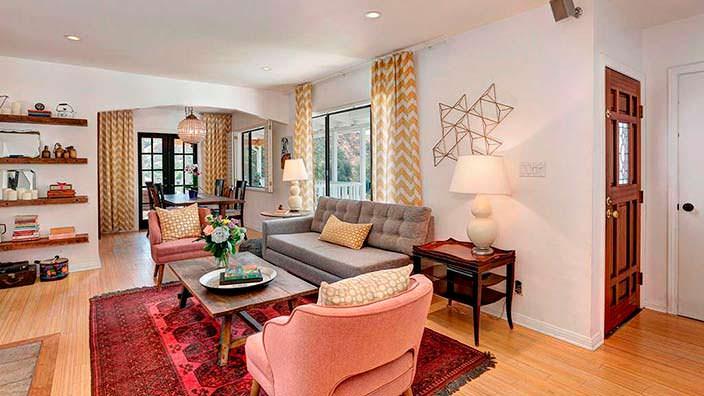 Дом в традиционном стиле актрисы Мисси Пайл в Лос-Анджелесе