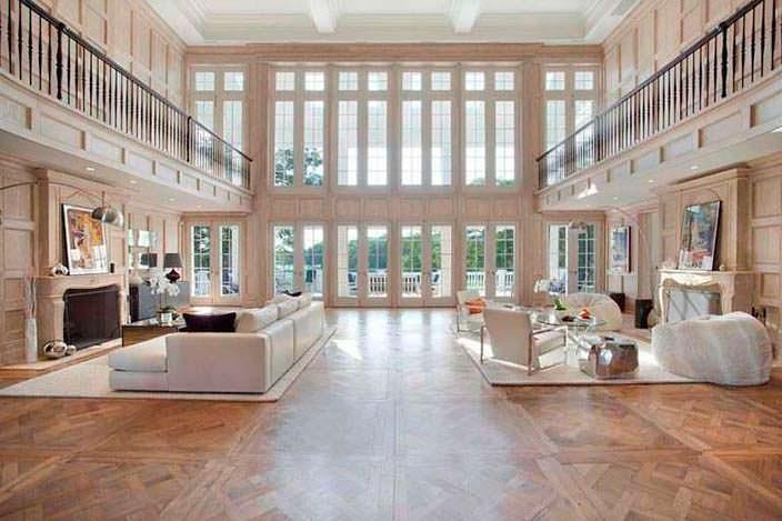 Зал с панорамным остеклением