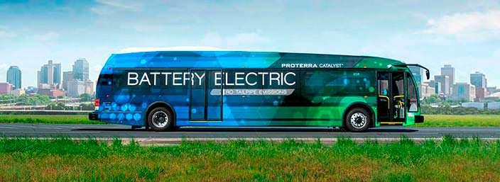 Элекроавтобус Proterra Catalyst E2 max: 1772 км на одном заряде