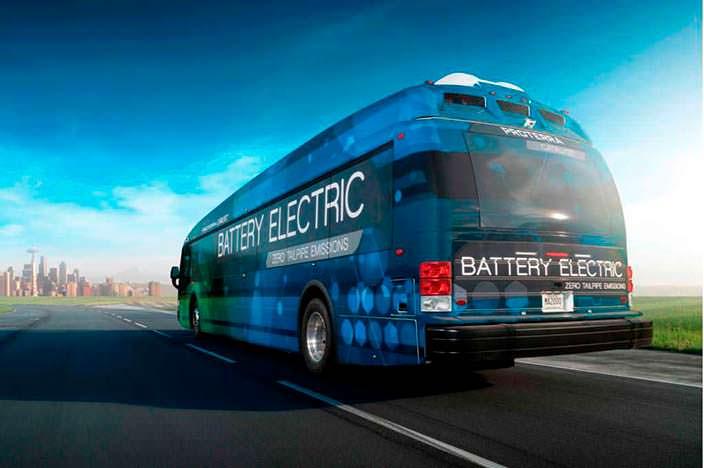12-метровый элекрический автобус Proterra Catalyst E2 max