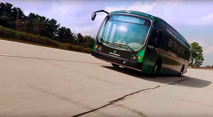 Элекроавтобус Proterra Catalyst E2 max длиной 12 метров