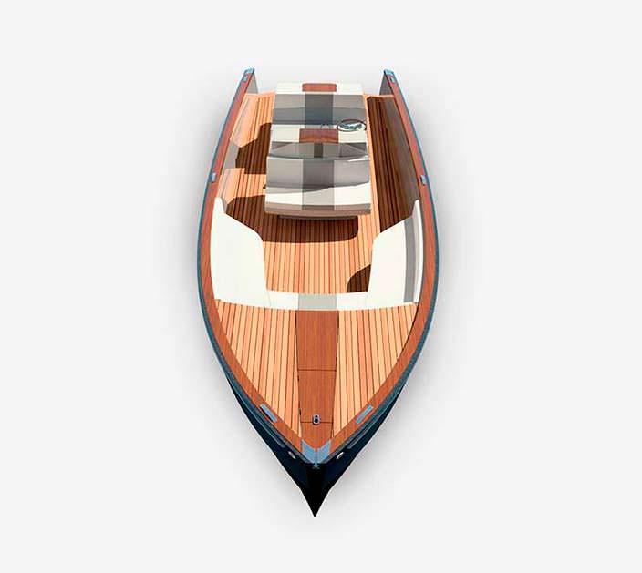 Дизайн катера Dasher от Hickley Yachts