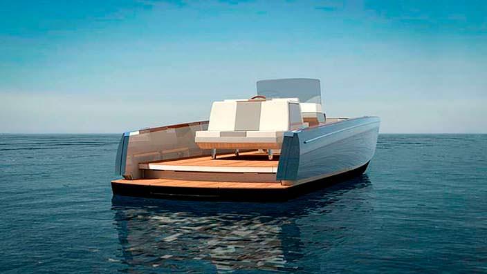 Прогулочный катер Dasher от Hickley Yachts