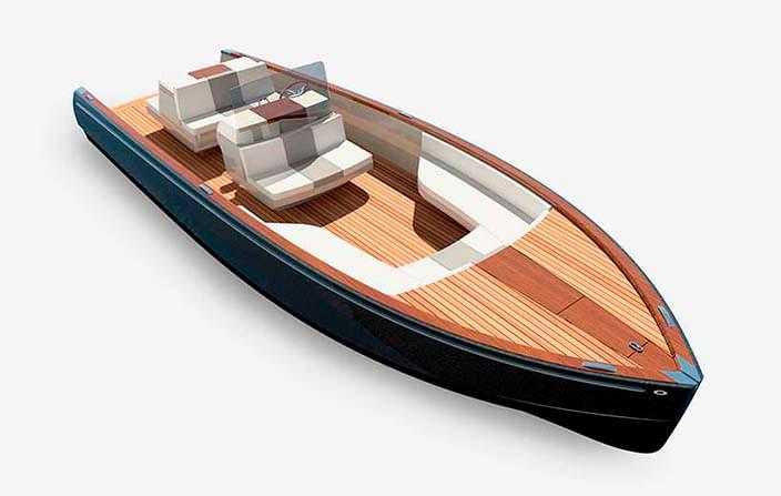 Катер с нулевыми выбросами Dasher от Hickley Yachts