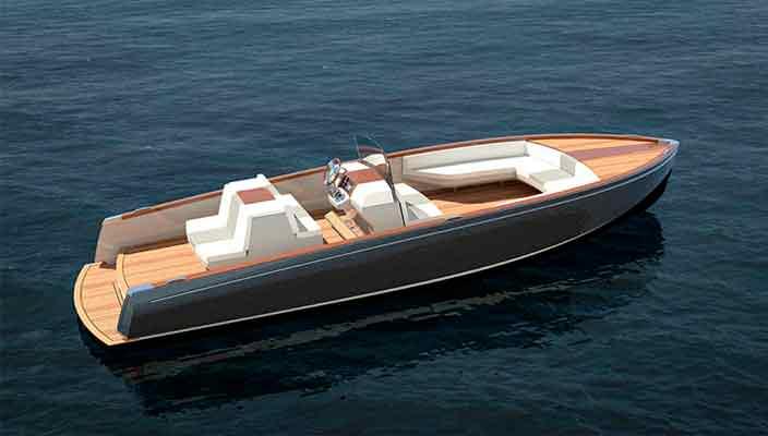 Hickley Yachts построила электрический катер Dasher | фото