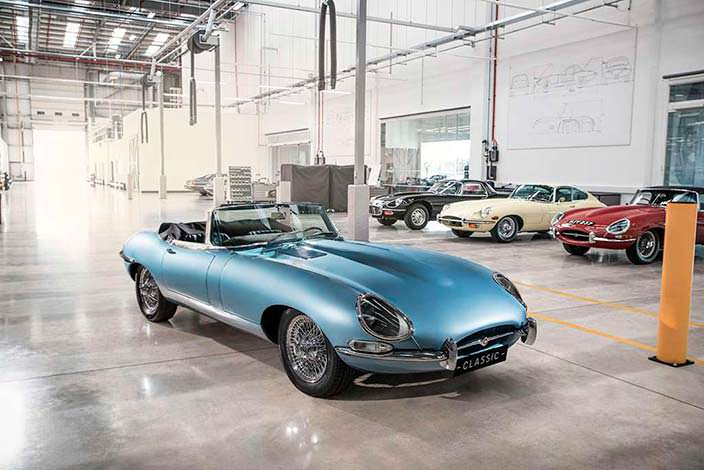 Электрокар из классического Jaguar E-Type 1968 года