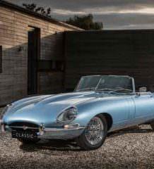 Классический Jaguar E-Type реинкарнировали в электрокар