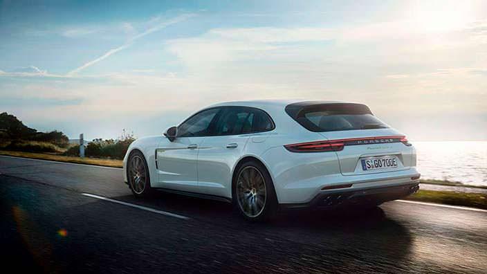 Самый мощный универсал Porsche Panamera Sport Turismo
