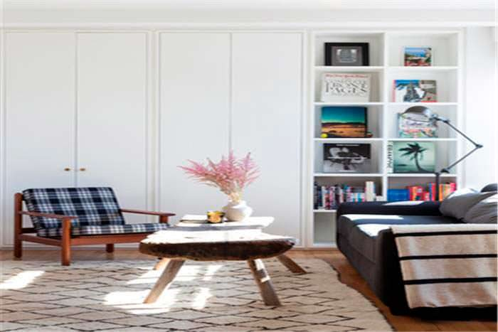 Дизайн интерьера квартиры с двумя спальнями на Манхэттене