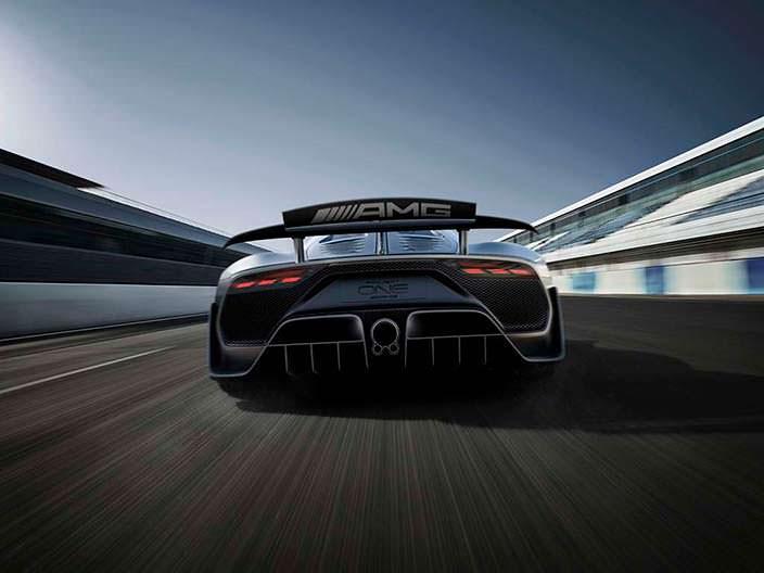 Супергибрид Mercedes-AMG Project One