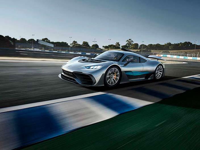 Суперкар Mercedes-AMG Project One 2017