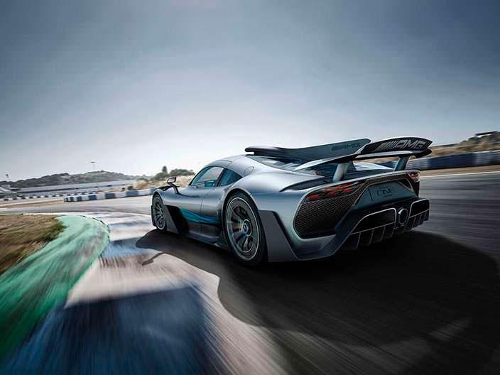 Суперкар Mercedes-AMG Project One мощностью 1000 л.с.