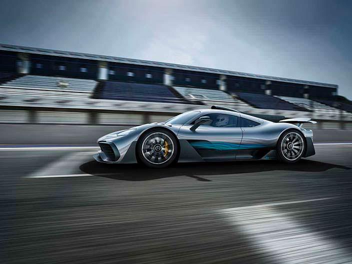 Новый суперкар Mercedes-AMG Project One