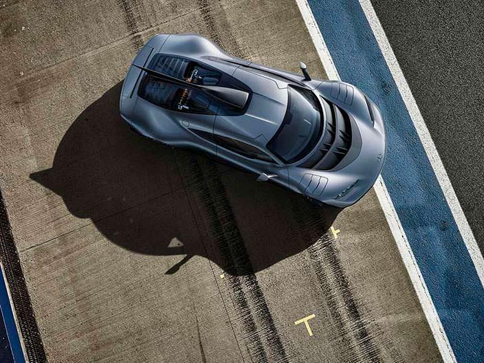Суперкар Mercedes-AMG Project One с двигателем из Формулы-1