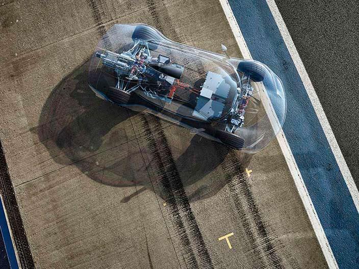 Mercedes-AMG Project One с двигателем от болида W08 F1