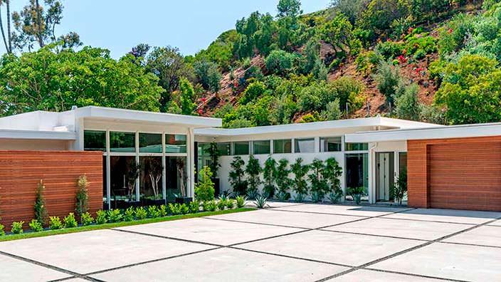 Новый дом Синди Кроуфорд в Беверли-Хиллз 90210