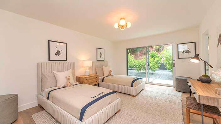 Дизайн детской спальни в доме Синди Кроуфорд