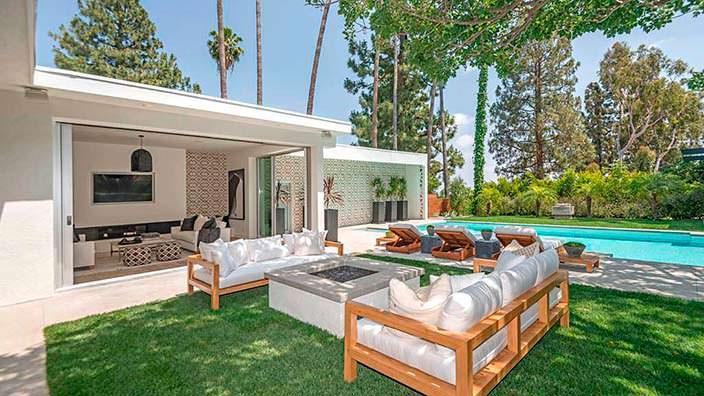 Интерьер в стиле модерн в доме Синди Кроуфорд