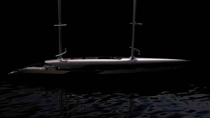 Круизная парусная яхта Cauta длиной 55 метров