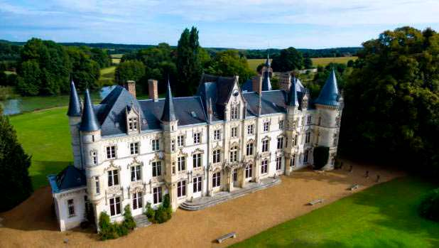 Французский замок XVI века Chateau Carbonnieres