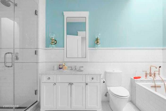 Винтажный дизайн ванной комнаты