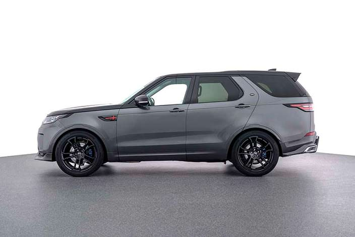 Внедорожник Land Rover Discovery. Тюнинг от Startech