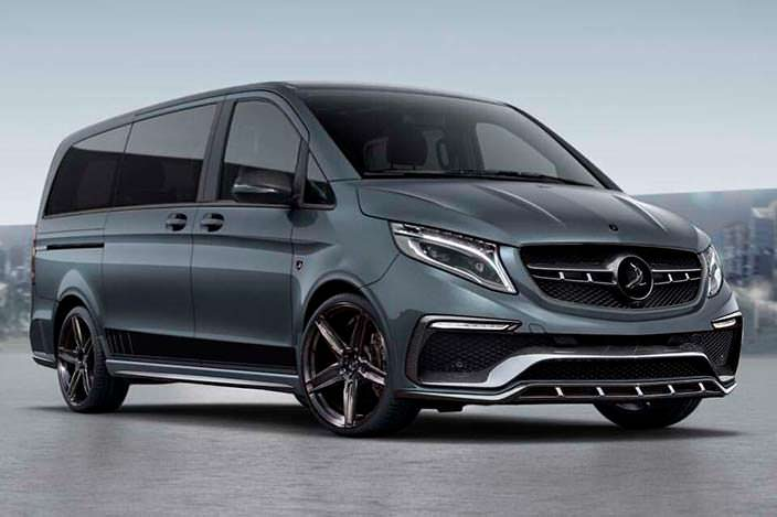 Новый Mercedes-Benz V-Class Inferno. Тюнинг от TopCar
