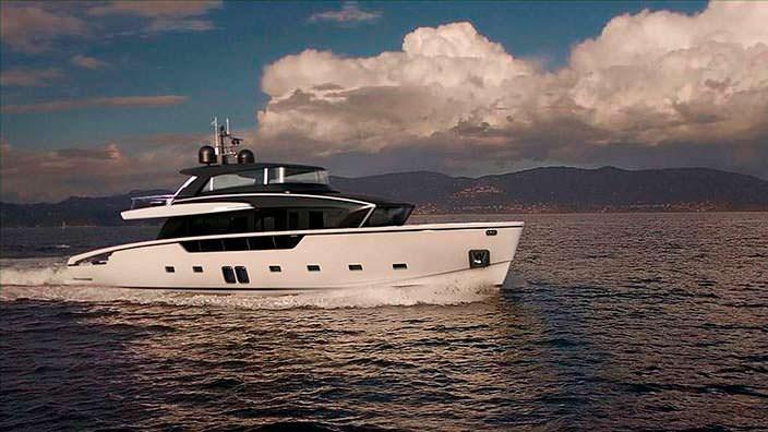 Яхта-кроссовер Sanlorenzo SX88