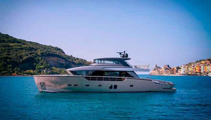 Новая яхта-кроссовер SX88 от верфи Sanlorenzo | фото