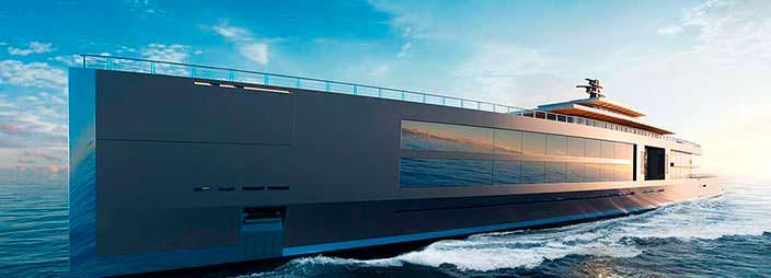 Яхта длиной 120 метров Sinot Nature