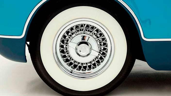 Ретро спицевые колеса Chrysler Ghia Special Coupe