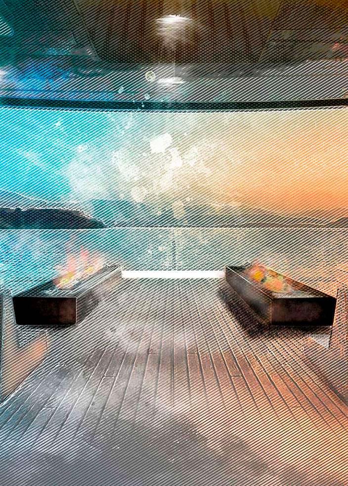 Палуба яхты Otam 115