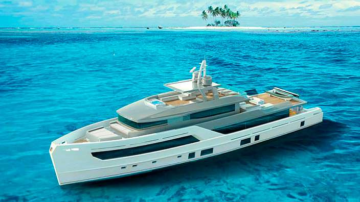 35-метровая яхта Otam 115
