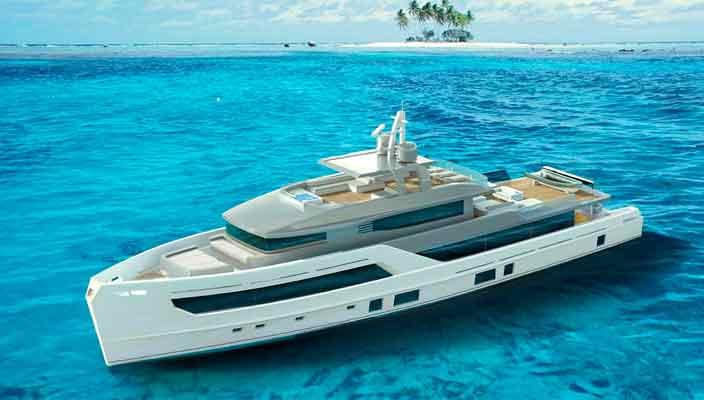 Otam Yachts показала концепт 35-метровой яхты 115   фото
