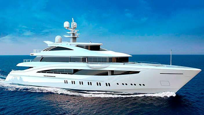 52-метровая яхта Rossinavi Project Florentia