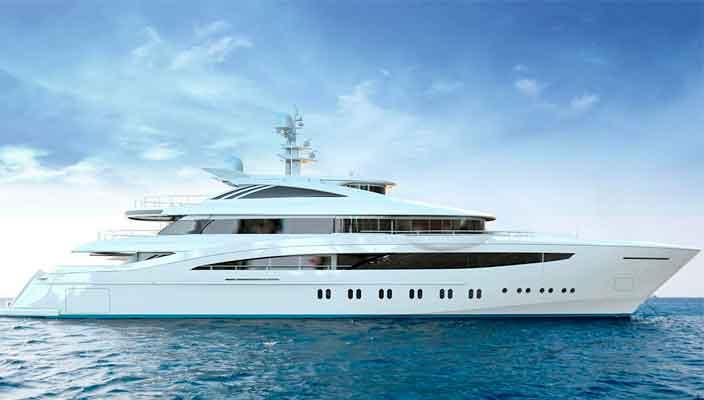 Rossinavi построит 52-метровую яхту Project Florentia | фото