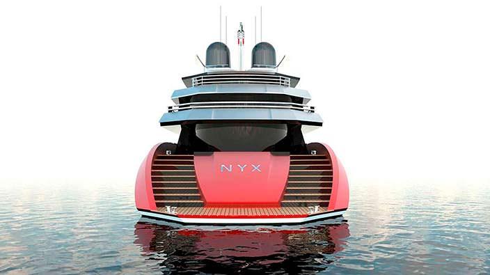 Моторная яхта Squared MK NYX