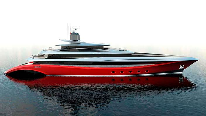 75-метровая яхта Squared MK NYX