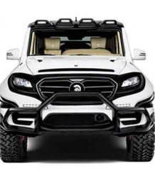 Монстр-внедорожник Mercedes G-Class к Хэллоуину от Ares