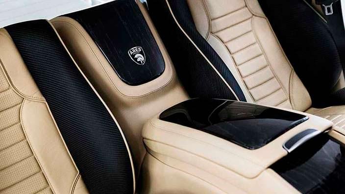 Задние VIP-сиденья Ares X-Raid из Mercedes G-Class