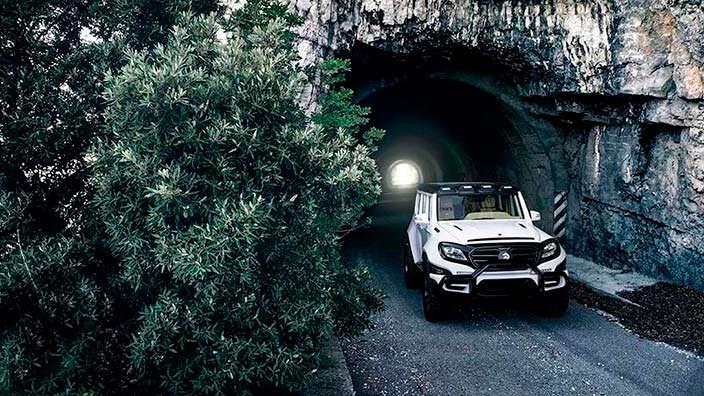 Хэллоуин-тюнинг Mercedes G-Class от Ares