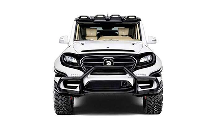 Внедорожник Mercedes-AMG G63. Тюнинг от Ares Design