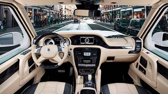 Фото салона Ares X-Raid из Mercedes G-Class